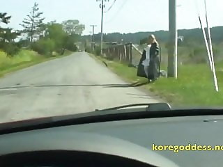 Driving down a lonely road and this happened