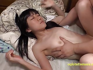 Skinny Jav Teen Sakura Chan Fucked By Two Old Guys