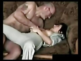 Skinny Brunettes with old men, my fav cuts from vids pt.2
