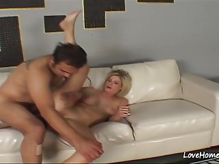 Horny dude is banging his beautiful busty chick.mp4