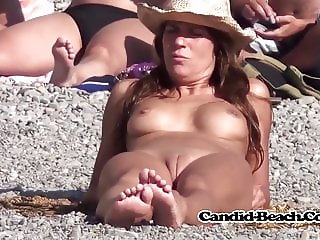 Tanned Nude Milfs Naked At The Beach Spycamera Voyeur