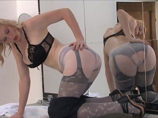 StockingVideos - Extreme Nylon Secretary
