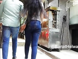 Egyptian Woman Hot Body Voyeur - Candid Ass - V08