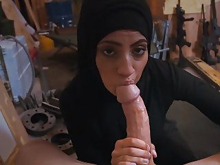 Sexy Arab Sucks His Dick