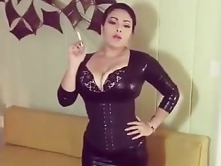 Smoking in latex