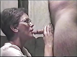 Obedient Jeanne - Sucking her Husbands Cock