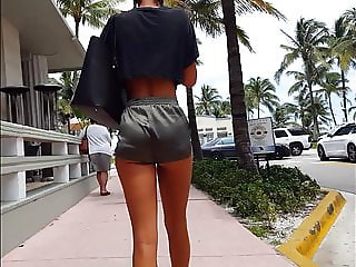 Candid voyeur most incredible girl tiny shorts beautiful