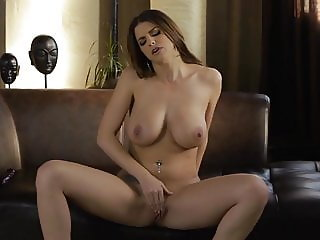 Brunette with amazing tits