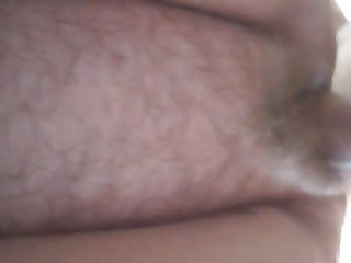 Close up of the fat wife being fucked from behind