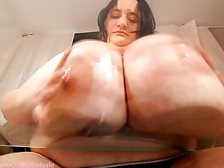Ugly Bitch Sunni With HUGE TITS