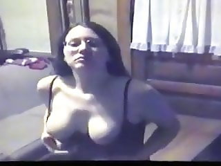 MILF Amateur Showing Big Stiff Clit & Tits, Amateursexkitty