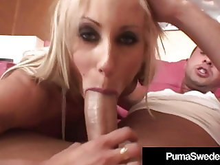 Sex Goddess Puma Swede Gets Fucked So Hard She Squirts!