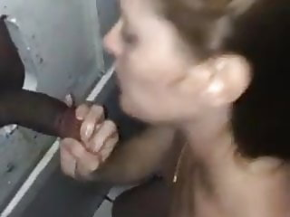 Wife Gloryhole with her man and a stranger Pt 6