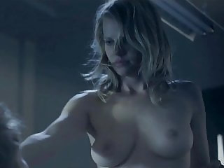 Mircea Monroe Natural Nude Boobs In bludwork  ScandalPlanet