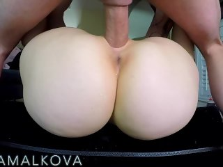 Fucked deep in my pussy on my new sex pillow