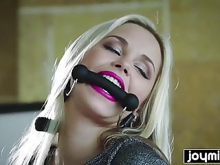 blonde submissive slut gets fucked