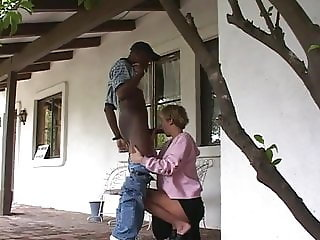 Blonde Housewife Takes BBC as revenge