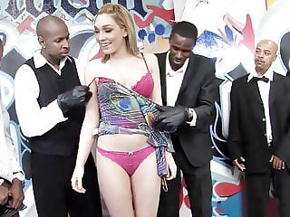 Lily LaBeau Sucks And Deepthroats Big Black Dicks