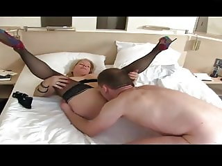 German milf and young boy