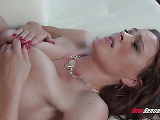 Step Mom Krissy Lynn Takes Sons Big Dick