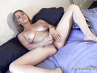 Femorg Babes Panty Wet Spot and Pulsating Orgasm