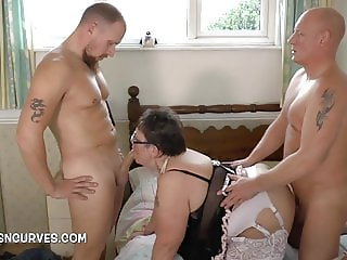 Sweet Honey needed to be fucked by two big cocks