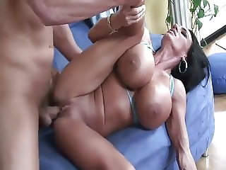 Monster Fake Boobs MILF In Action by Unlimited666