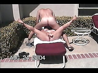 Sexy BBW ExMistress fucks herself and sucks my dick outdoors