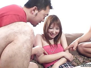 Just moved in, she's already on her neighbor's dick