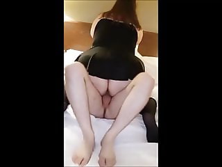 BBW Squirter Girlfriend Cuckolding Her BF