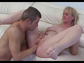 Fisted in her home porn