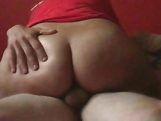 Homemade bbw wife riding my cock