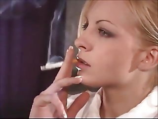 Ramona smoking schoolgirl