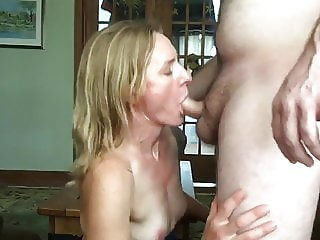 Mommy bj and fucking