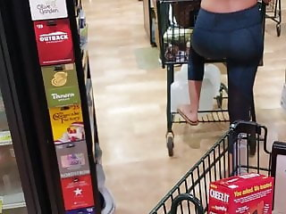 Sports bra at grocery