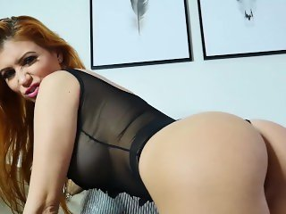 Perfect Ass Redhead With Big Tits Teasing You