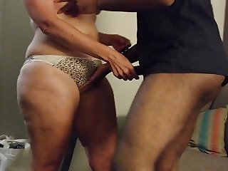 Cuckold - Wife with BBC in Hotel, husband films