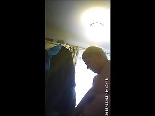 My Sexy Wife Changing Her Knickers For Bed