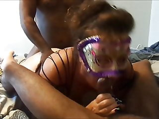 BBC's using fat wife's holes