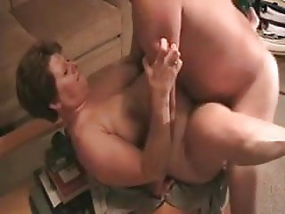 mature fuck on table