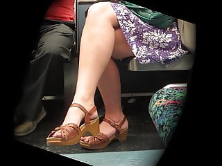 Old Milf with Foot