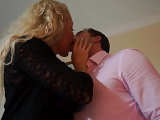 British MILF Rebecca fucked by lucky dude