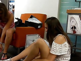 MOM VS DAUGHTER Trying On Shoes