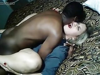 Wife getting creamy by BBC while Chucky films