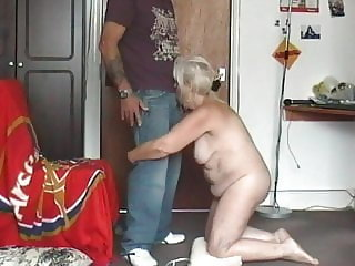 65 year old dancing naked