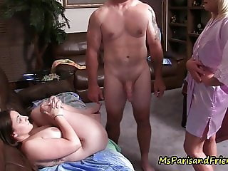 Ms Paris and Her Taboo Tales-Daddy Daughter Gets Caught