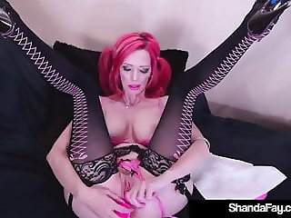 Horny Housewife Shanda Fay Fucked In Her Wet Pussy Outdoors!