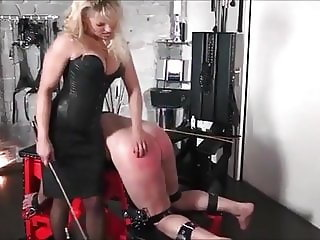 no escape for a good caning