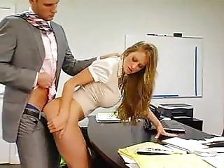 Office Secretary with  Huge Tits