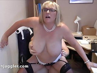 My Mature Secretary loves my big cock